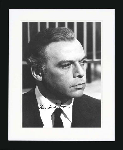 "Herbert Lom 8 x 10"" Signed Photograph"