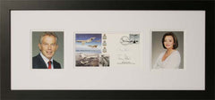 Tony and Cherie Blair Signed First Day Cover