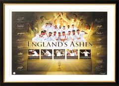 England's Ashes 2011 Fully Signed