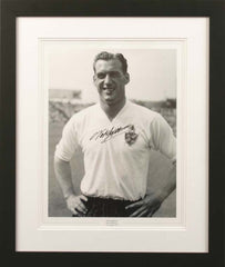 "Nat Lofthouse 12 x 16"" Signed Photograph"