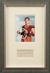 Charlton Heston Original Signature