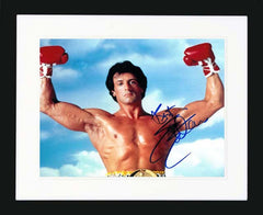 "Sylvester Stallone 10 x 8"" Signed Photograph"