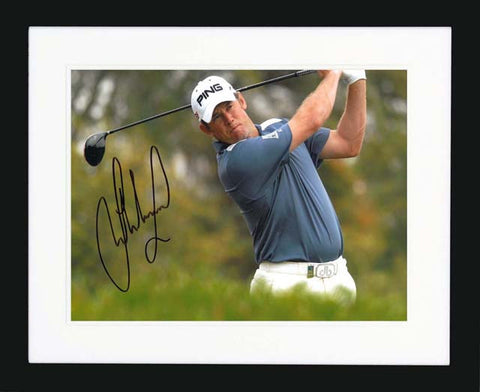 "Lee Westwood 10 x 8"" Signed Photograph"