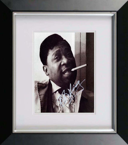 "B.B. King 11 x 14"" Signed Photograph"