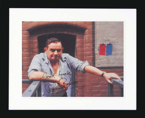 "Ronnie Barker 10 x 8"" Signed Photograph"