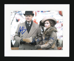 Colin Firth and Helena Bonham Carter Signed Photograph