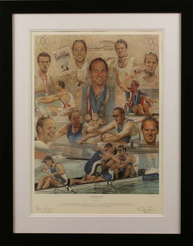 Sir Steve Redgrave By Stephen Doig