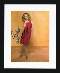 Calista Flockhart Signed Photograph