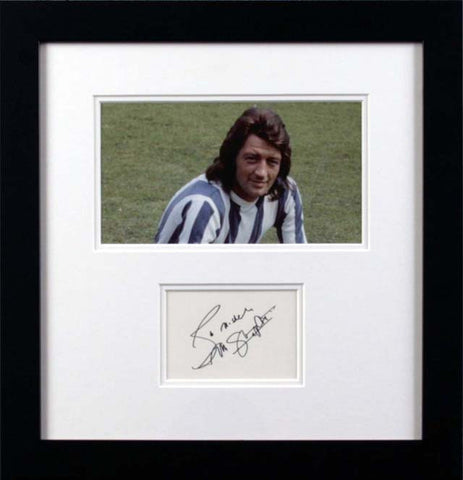 Frank Worthington Original Signature
