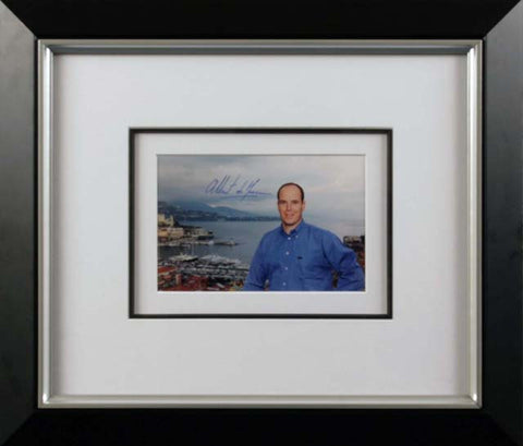 Prince Albert II Signed Photograph