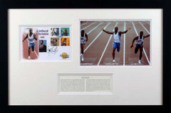 Linford Christie Original Signature