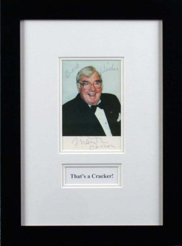 Frank Carson Signed Photograph