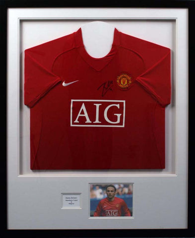 Dimitar Berbatov Signed Man Utd Shirt