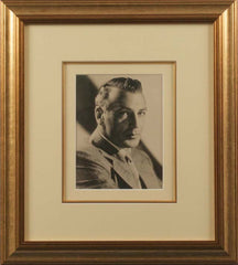 Gary Cooper Signed Vintage Photograph