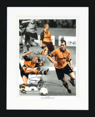 "Steve Bull 12 x 16"" Signed Photographic Montage"