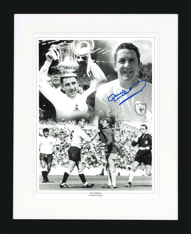 "Dave Mackay 12 x 16"" Signed Photograph"