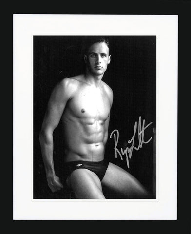 "Ryan Lochte 8 x 10"" Signed Photograph"