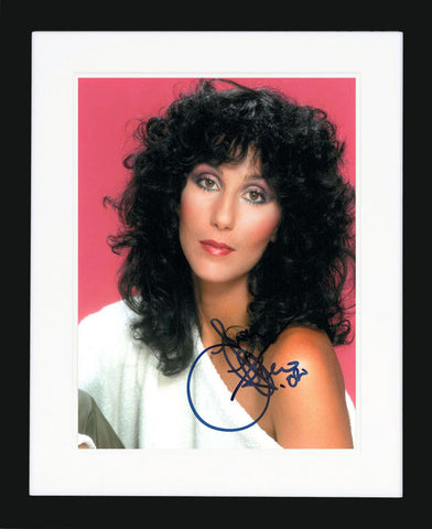 "Cher 8 X 10"" Signed Photograph"