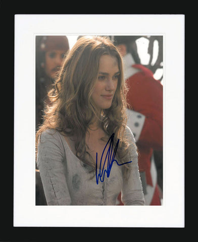"Keira Knightley 8 x 10"" Signed Photograph"