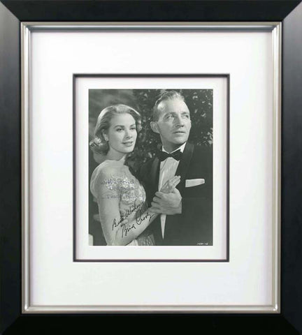 Grace Kelly and Bing Crosby Signed Vintage Photograph