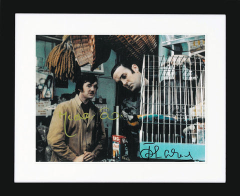 "John Cleese and Michael Palin 10 x 8"" Signed Photograph"
