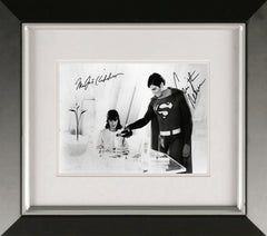 "Christopher Reeve and Margot Kidder 10 x 8"" Signed Photograph"