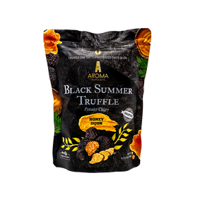 Black Summer Truffle Potato Chips (Honey Dijon)