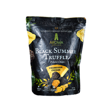 Load image into Gallery viewer, Black Summer Truffle Potato Chips (Parmesan Cheese)