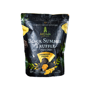 Black Summer Truffle Potato Chips (Parmesan Cheese)