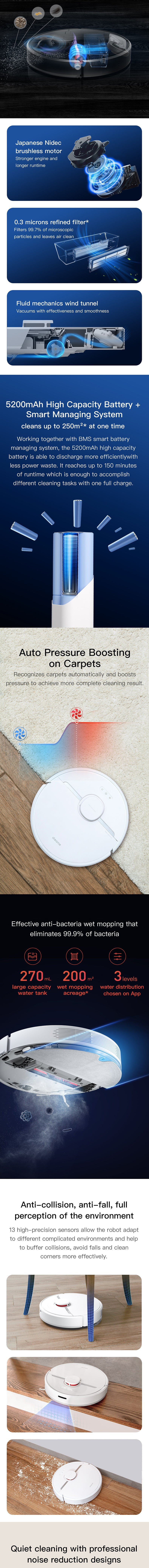 Dreame D9 Robot Vacuum Cleaner