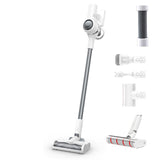 Dreame V10 Cordless Stick Vacuum Cleaner 22000Pa Suction Upgraded Carpet Head and Soft Head Combo