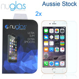 2X Nuglas Tempered Glass Screen Protector iPhone 12 11 PRO X XS Max 8 7 6 6S Plus
