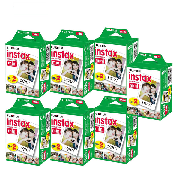 140 Sheets Fujifilm Instax Mini Film Fuji instant photos 7s 8 25 90 Polaroid 300