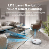 Dreame D9 Robot Vacuum Mop Cleaner 3000Pa Suction Laser Sensor Navigation Au Version
