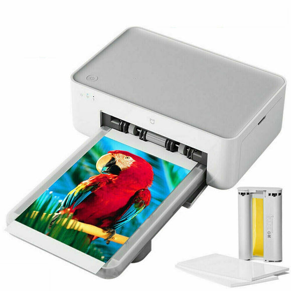 Xiaomi Mi Wireless Photo Printer Heat Sublimation with Extra Ink and 40 Photo