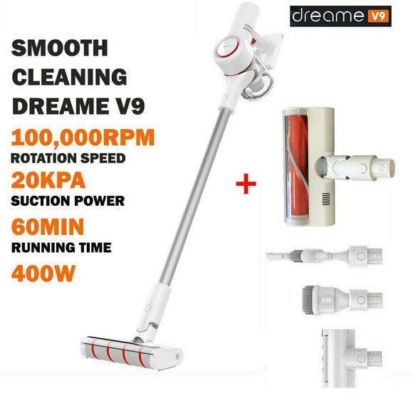 Dreame V9 Cordless Handheld Stick Vacuum Cleaner 20,000Pa Australian Version