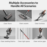 Dreame cordless Handheld V11 Stick Vacuum Cleaner 25,000Pa Suction Au Version