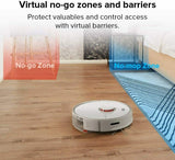 Roborock S5 Max Smart Robot Vacuum & Mop Cleaner Australian Version White