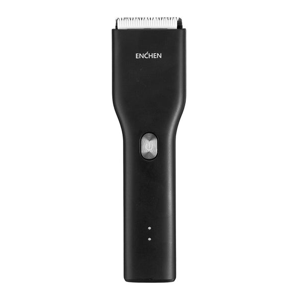 ENCHEN Boost Electric Hair Clipper Ceramic Cutter Fast Charging Hair Trimmer Hair Clipper Xiaomi Youpin - Black