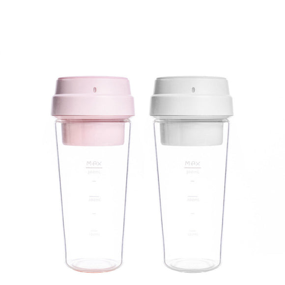 Xiaomi Juistar Portable Juice Blender Baby food Blender Juicer White and Pink Twin Pack