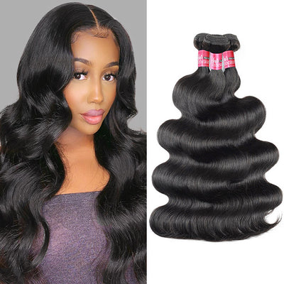 3 Bundles Indian Body Wave Unprocessed Virgin Human Hair Weave Indian Body Wave Hair Extension
