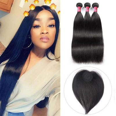 Raw Indian Straight Hair 3 Bundles Mink Virgin Hair Human Hair High Quality Hair Weave