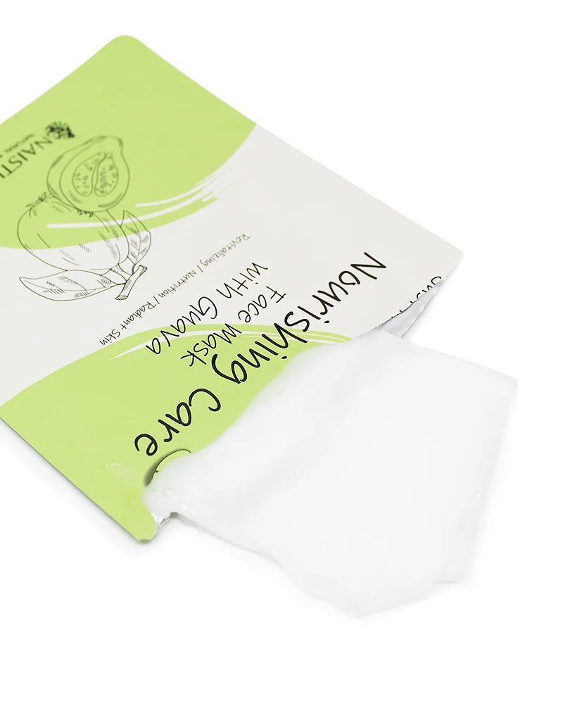 Just in 15 Min Brightening Guava Facial Mask (10 Sheets)