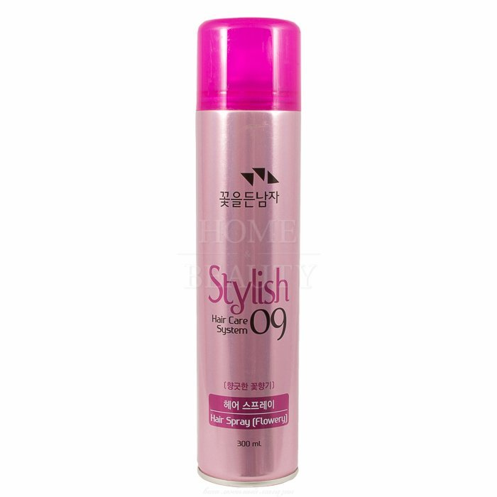 Man with Flowers Hair Care System 09 Hair Spray - Fragrantly Flower 300ml