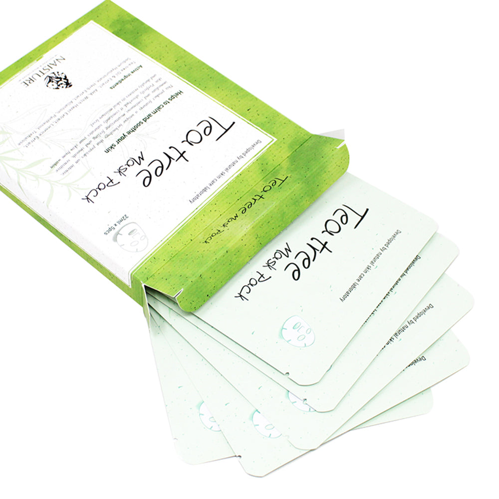 NAISTURE TEA TREE MASK PACK (5 Sheets)