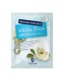 15MINUTES WHITE ROSE MASK (10 Sheets)