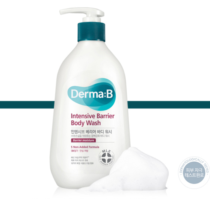 Derma:B intensive Barrier Body Wash 400ml