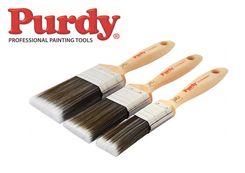 Purdy Monarch Elite Paint Brush set - 3 piece - 1, 1.5 & 2 Inch