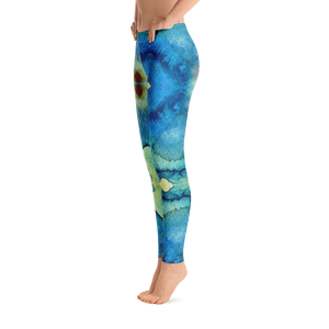 MW Leggings - Pool
