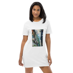 Organic Cotton T-shirt Dress - Waterfall